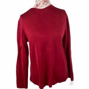 Eileen Fisher Silk blend Red Sweater